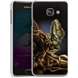 Samsung Galaxy A3 (2016) Housse Étui Protection Coque Saurien Reptile Animal