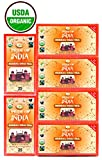Pride Of India - Organic Herbal Chai Tea, 25 Count (3-Pack): BUY 1 GET 1 FREE (6 BOXES TOTAL)