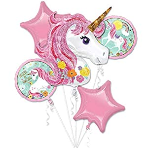 Unicornio tema fiesta suministros unicornios