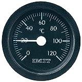Unbekannt IMIT Analoges Einbaumessgerät 100847 Kapillar-Einbau-Thermometer groß Einbaumaße Ø 52mm