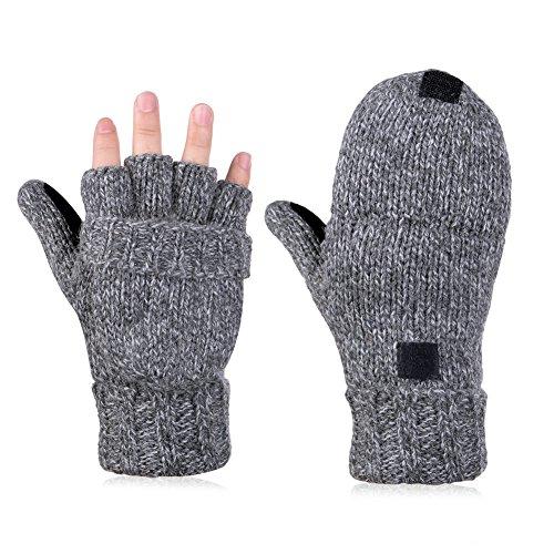 Vbiger Winter Handschuhe Fingerl...