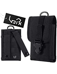 Urvoix Tactical Military Molle Bag With Buckle Army Waist Belt Clip Phone Pouch - EDC Utility Outdoor Gear Holster...