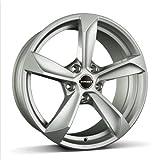 Borbet S brilliant silver 8x18 ET40 5.00x115 Hub Bore 70.10 mm - Alu felgen