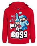 Minecraft Official Like A Boss Boy's Hoodie (11-12 Years)