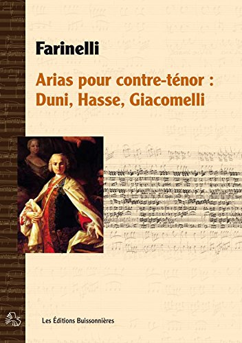 Farinelli, Arias pour Contre-Tenor