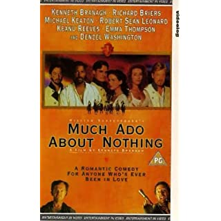 Much Ado About Nothing [VHS] [1993]
