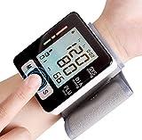 Tochange Handgelenk-Blutdruckmessgerät, Digital Vollautomatisches BPM mit Herzfrequenz-Pulserkennung Großes LCD-Display 2 * 90 Speicherkapazität für Den Heimgebrauch