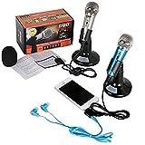 JOYOOO Minihand Kondensator-Mikrofon Gesangsaufnahme für Handy, Kompatibel mit iOS und Android-Smartphones