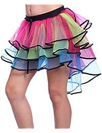 Aimerfeel femmes intimes multi couleur 7 couche tutu style flamant