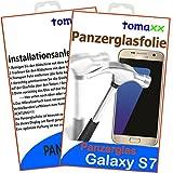 Samsung Galaxy S7 Glas Glasfolie 9H Panzerglas Panzerglasfolie Schutzfolie