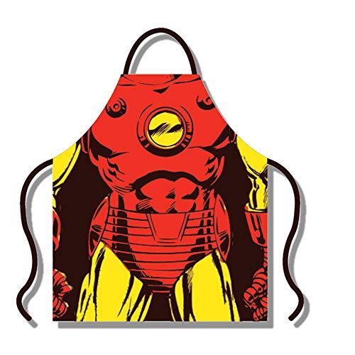 Marvel Comics Iron Man Torso Delantal