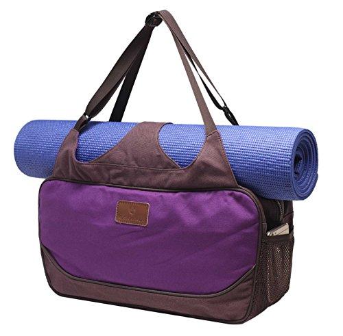 Bolsa de yoga «Vimalaa» de #DoYourYoga fabricada con lona (lienzo de...