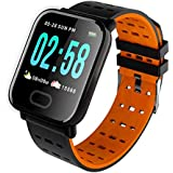Rdeal Mi compitable Activity Tracker | Heart Rate Monitor|Sleep Tracker | Smart Band |Fitness Tracker |Pedometer|Calories & Distance Calculator red rgreen