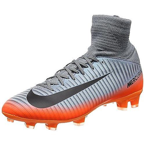 Nike Unisex-Kinder Jr Mercurial Vctry 6 DF NJR FG Fuszlig;ballschuhe