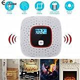 Generic LCD CO Carbon Monoxide Gas Detector Alarm Poisoning Smoke Voice Warning Sensor