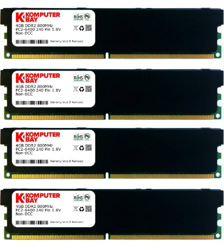 Komputerbay - RAM Dimm DDR2, 16GB, 240 Pin, 800MHz, PC2