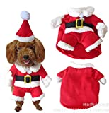Best Dog Costumes - Moolecole Cawaii Pet Clothes Christmas Clothes for Dogs Review