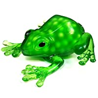 Squeezy Frog Squidgy Slime Filled Toy Assorted Colour