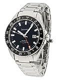Eberhard & Co Herren-Armbanduhr Scafograf GMT Datum Automatik Analog 41038.1 CAD
