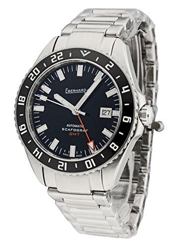 Eberhard & Co–Reloj de pulsera hombre scafograf GMT Fecha Automático Analog 41038.1CAD