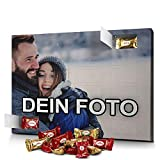 PhotoFancy - Marzipan Adventskalender mit eigenem Foto - gefüllt mit Zentis® Pralinés aus Edelmarzipan