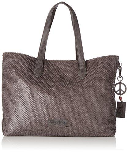 Fritzi aus Preussen Damen Andrina Business Tasche, Grau (Grey), 8.5x31x54.5 cm