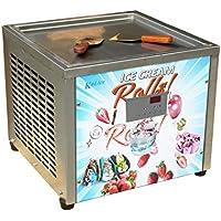Envío gratis 45x45cm (18x18 pulgadas) único cuadrado de hielo cacerola frita máquina del rodillo