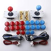 Reyann 2 Player gioco Arcade fai da te Parts Joystick