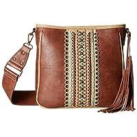 Blazin Roxx Western Handbag Womens Laney Messenger Brown N7512102