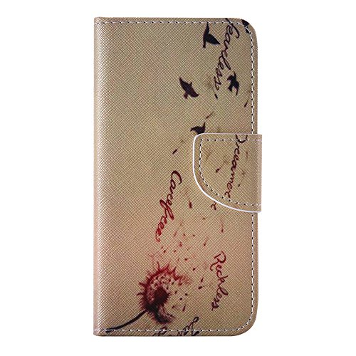Nancen Apple iphone 6 / 6S (4,7 Zoll) Handy Lederhülle, Flip Case Wallet Cover with Stand Function, Folio Bookstyle Handytasche Soft Silikon Bunte Muster Tasche PU Leder Slim Shell Handyhülle.