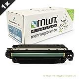 1x MWT Remanufactured Toner für HP Color LaserJet CP 3525 X DN N ersetzt CE250A