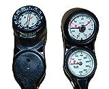 Polaris 3er Konsole mit Finimeter, Tiefenmesser und Kompass, klein, kompakt