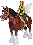 Schleich Bayala - Waldelfe festlich reitend auf Clydesdale Hengst 42109 13670