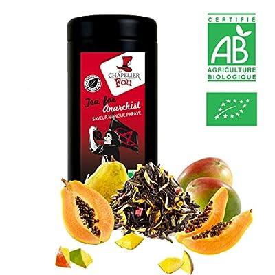 Thé noir mangue papaye Bio - Boîte 100g vrac - ? Certifié Agriculture biologique ?