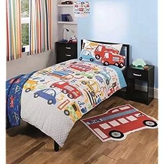 George Asda reversible cotton blend duvet and pillowcase set 120 x 150 cms