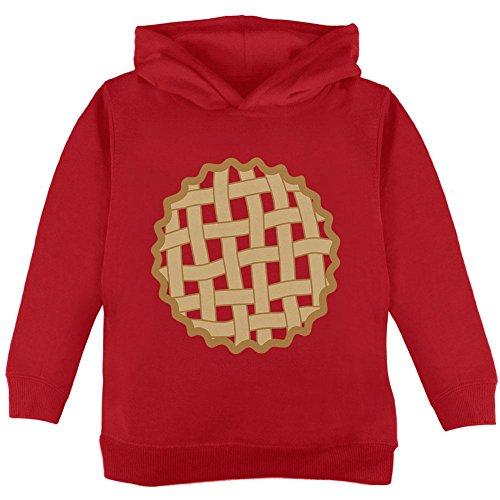 Kostüm Erdbeere Kirsche Kleinkind Hoodie Rot 2 t (Kleinkind-halloween-kostüm Erdbeere)