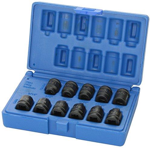 Grau Pneumatische (1211p) 3/20,3cm Drive 11Pipe Plug Socket Set -