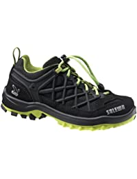 Salewa JR WILDFIRE WATERPROOF 00-0000064005 - Zapatos para unisex-niño, color amarillo, talla 27 EU (9 Kinder UK)