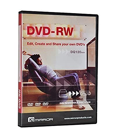 MasterStor - (Lot de 5) Miroir DVD-R 4.7 Go environ