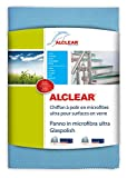 ALCLEAR 820051UM Panno in Microfibra Ultra Glass Polish, Blu, 70 x 50 cm