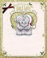 Lussuosa scatola Me to You a mano grande biglietto di auguri Natale One i Love