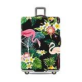 """Gifts Treat Copri bagagli copri valigia (senza valigia) (Giungla&fenicotteri, XL(Fit 29""""-32"""" Suitcase))"""