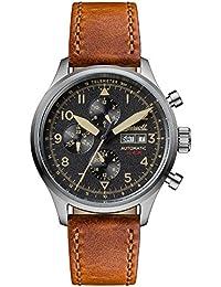 Ingersoll Herren-Armbanduhr The Bateman Quarz Leder Schwarz I01902