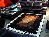 NEU KUHFELL PATCHWORK TEPPICH. Vip-Leather (150 cm x 210 cm)
