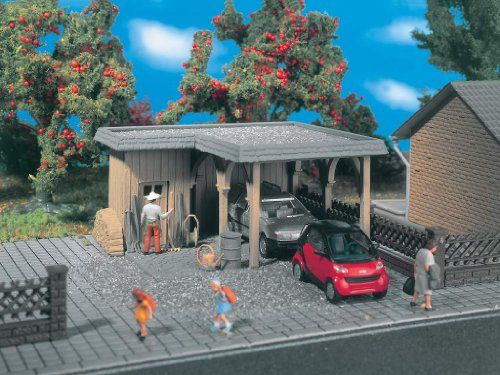 Preisvergleich Produktbild 5127 - Vollmer H0 - Carport 1 ständig