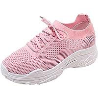 Zapatos de Mujer de Moda Zapatos Casuales Zapatos para Caminar al Aire Libre Zapatos Deportivos de Estudiante