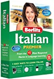 Berlitz Learn Italian Premier (PC/Mac) (6 CD Set - Windows & Macintosh)