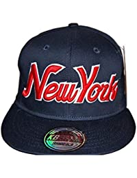 KB Ethos new york regulable, gorras, diseño retro, vintage-Gorra con visera