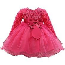 Vestido Bebé Niñas, ❤ Modaworld Vestidos de Fiesta de Boda de Princesa de Manga