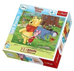 Puzzle 3D Kubus Puchatek Hula hop 48